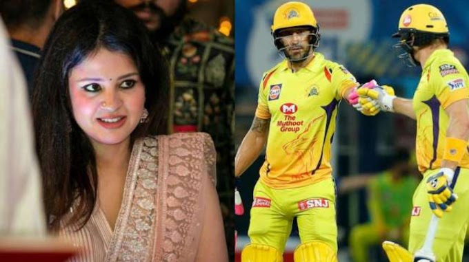 IPL 2020: Sakshi Dhoni's 'class' reaction to Faf du Plessis, Shane Watson's record stand for CSK
