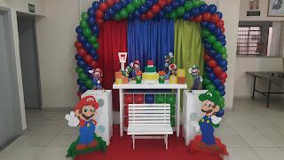 Cenário Mario Brothers