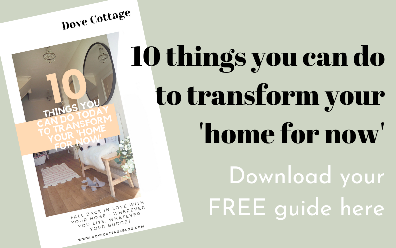 Download your free guide to transforming your home from upcycling furniture, repainting woodwork, replacing floors with vinyl into your forever home. Fall back in love with your home with these simple, budget tips.