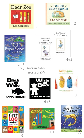 ספרי ילדים באנגלית
