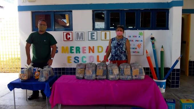 Prefeitura de Fernando Pedroza inicia pela 4ª vez as entregas dos Kit Merenda Escolar