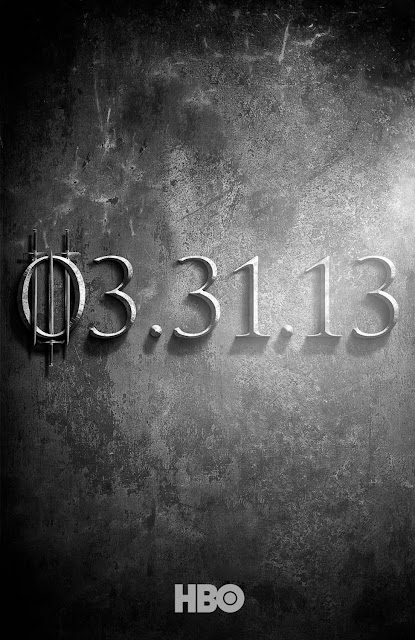 Game of Thrones Season 3 Teaser One Sheet Television Poster