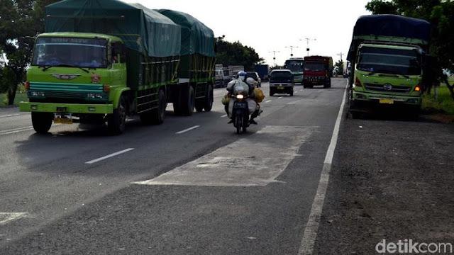 Pengemudi Truk Tinggalkan Tol Trans Jawa Demi Ongkos yang Lebih Murah