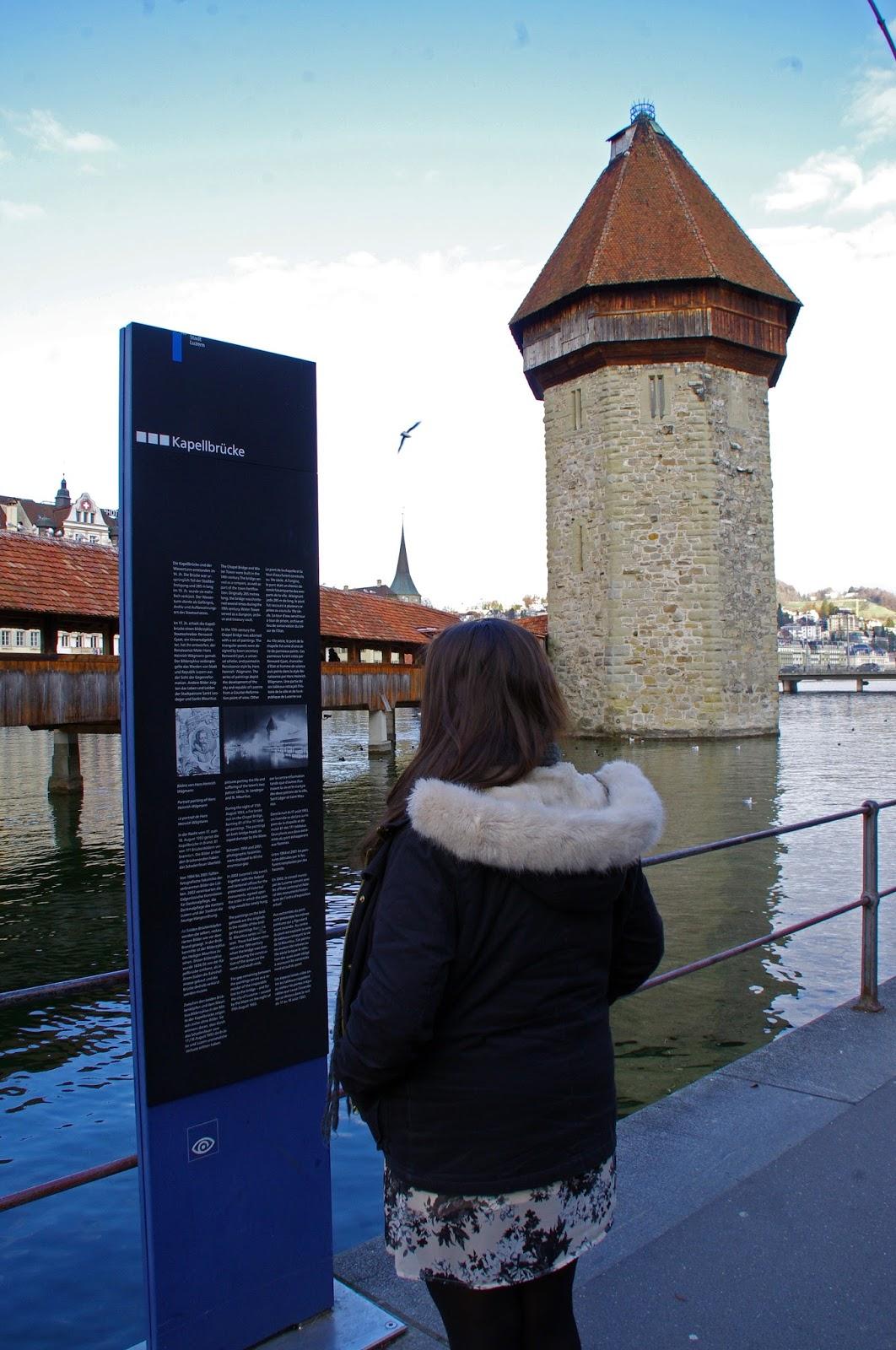 Lucerne Switzerland Chapel Bridge Information
