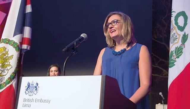 Embajadora de Reino Unido, Kate Harrisson