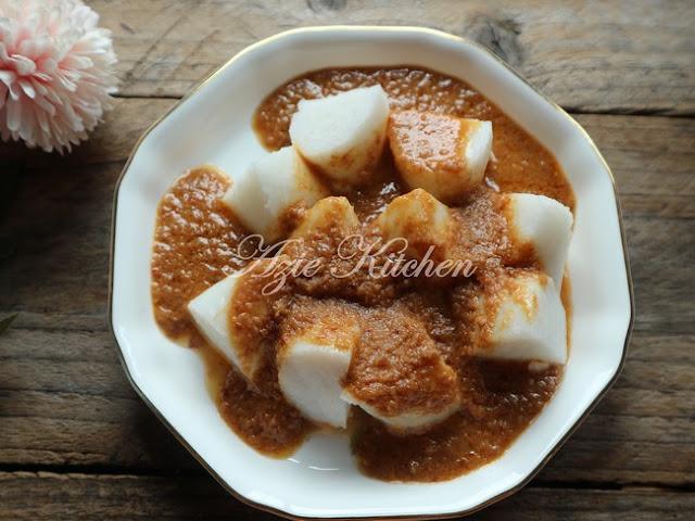 Kuah Kacang Aka Kuah Nasi Kapit Kelantan Yang Sangat Sedap