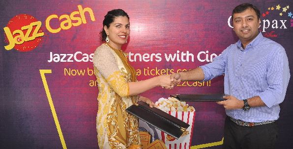 #JazzCash to Offer a One-Touch Solution for Ticket Purchaseat #Cinepax