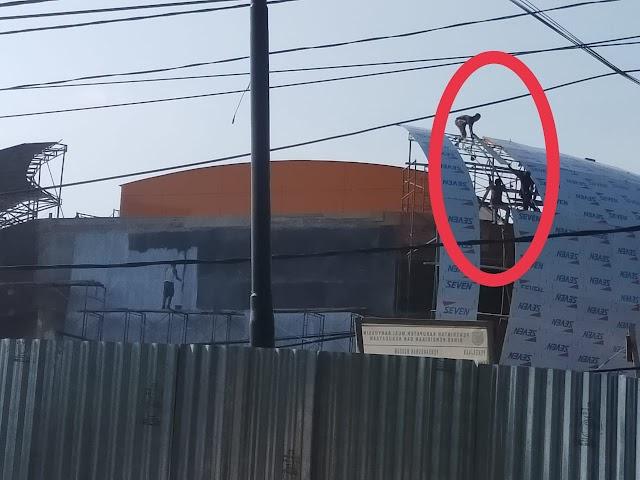 Pekerja Pembangunan Museum Di Musi Banyuasin Terancam Mati