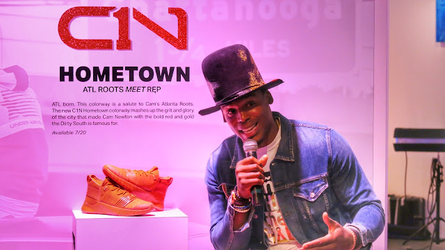 First Look: Cam Newton's C1N Hometown shoe represents the culture