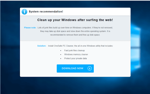Clean up your Windows after surfing the web!