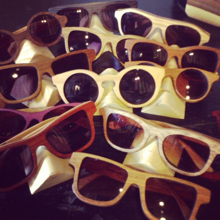 2995ca5747 La madera hoy más cool que nunca >>>> Gafas!!!