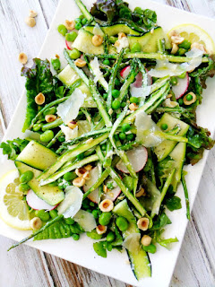 vegetarian easter dinner salad