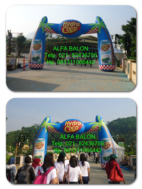 Balon Gate , Balon Gapura Start Finsih