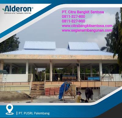 ATAP UPVC ALDERON | PT. CITRA BANGKIT SENTOSA