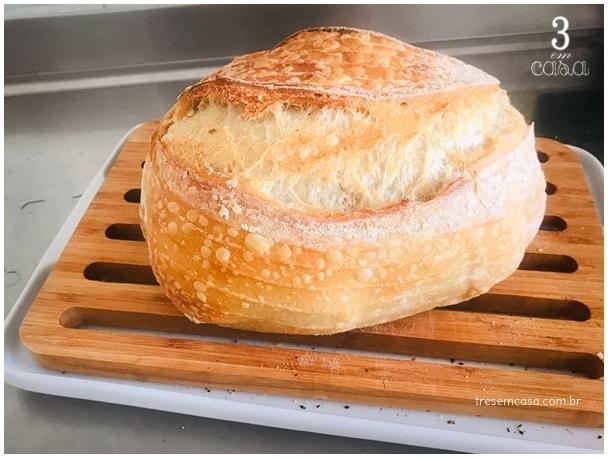 dica pão de fermentação natural
