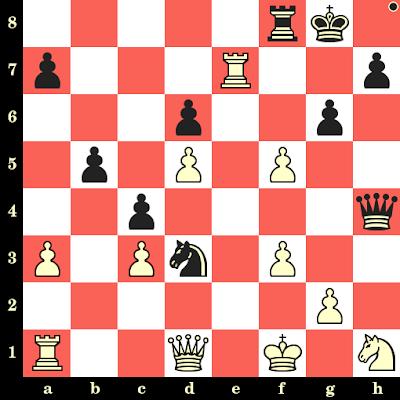 Les Noirs jouent et matent en 4 coups - Alexandru Tyroler vs Arpad Vajda, Hambourg, 1930