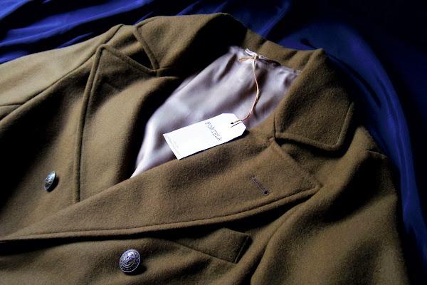フォルテーラのウールコート