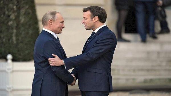 Macron y Putin conversan sobre la situación en Oriente Medio