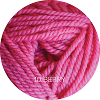 Ewe Ewe Yarns Wooly Worsted: 10 - Berry
