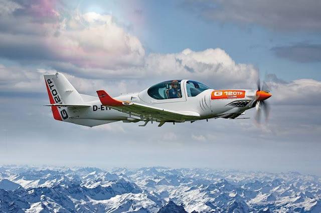 Bangladesh Grob G120 trainer aircraft
