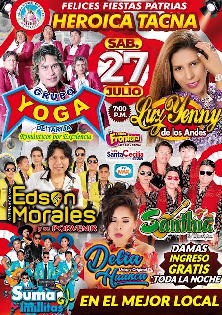 Felices Fiestas Patrias Tacna