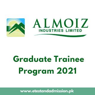 Al Moiz Industries Graduate Trainee Program 2021