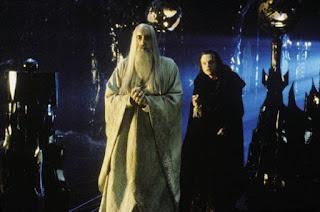 Saruman y Grima