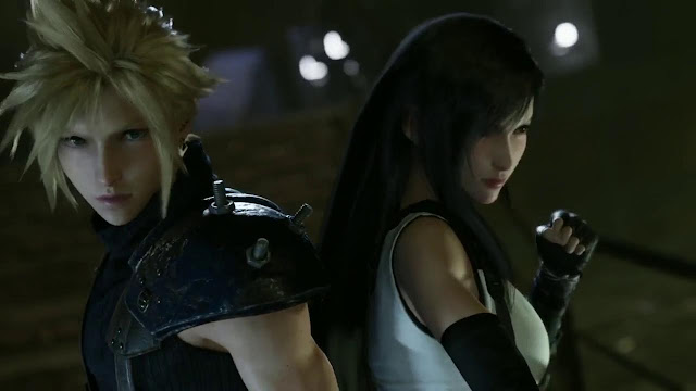 cloud tifa final fantasy 7 remake