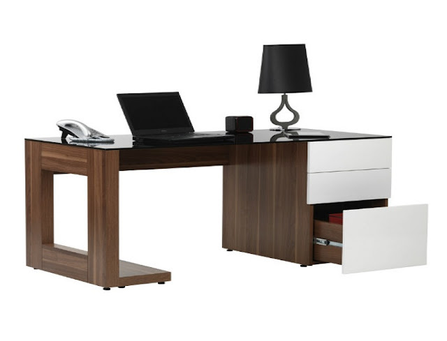 best buy modern home office desks New Zealand for sale with drawer