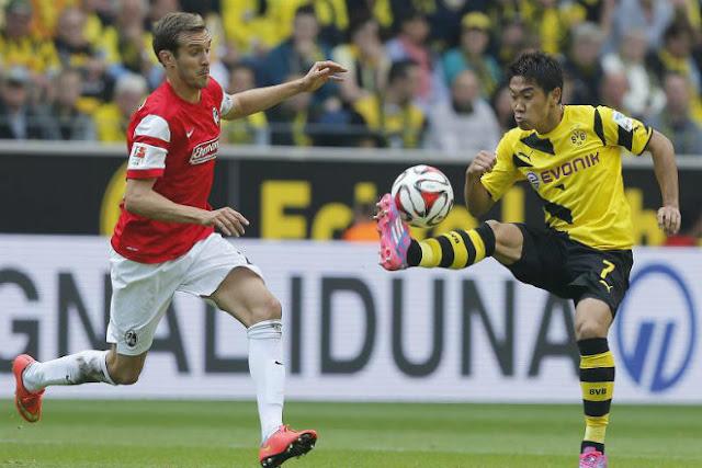 Video Dortmund - Freiburg: Đại tiệc 4 bàn, thoát chết phút 90+3