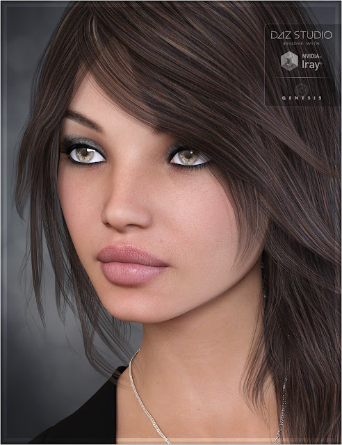 Jayda for Genesis 3 Female
