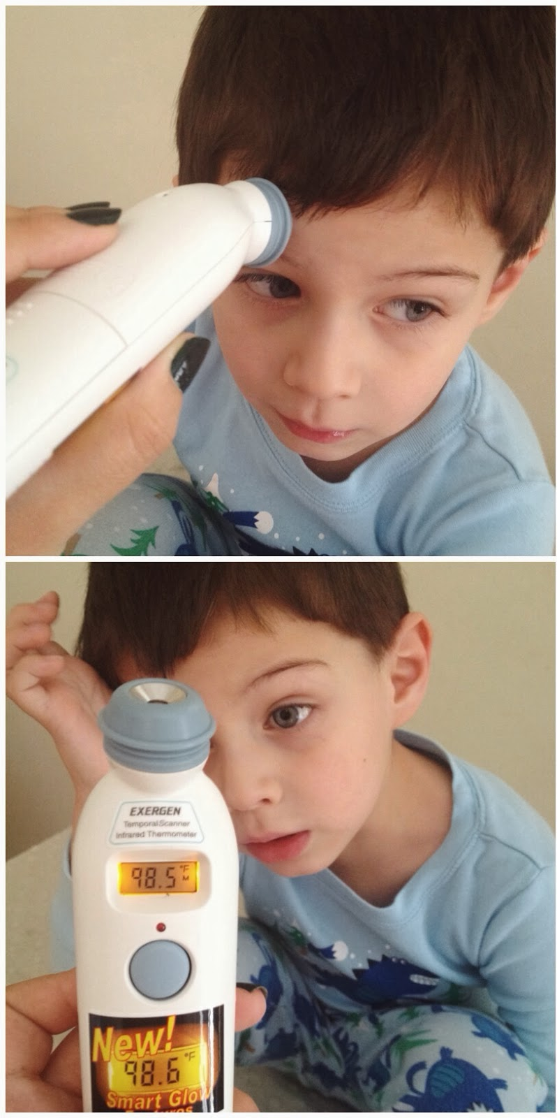 Hello Jack Blog: Exergen Temporal Thermometer