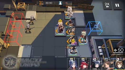 Arknights: Gameplay