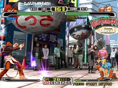 Capcom Vs SNK PS1 ISO