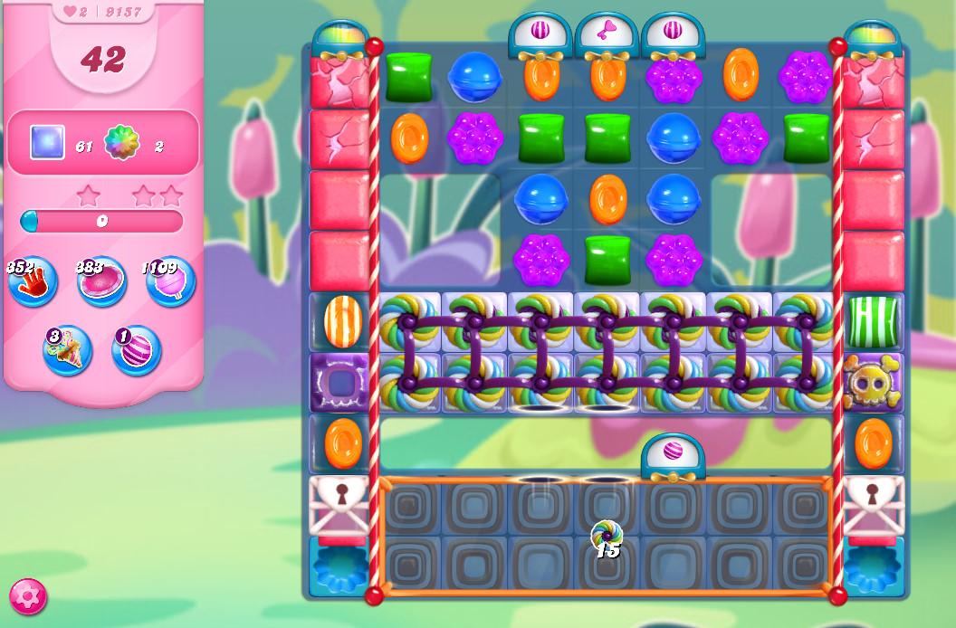 Candy Crush Saga level 9157