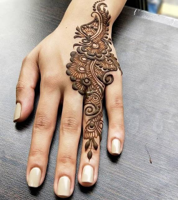 simple arabic mehndi designs for full hands 2012