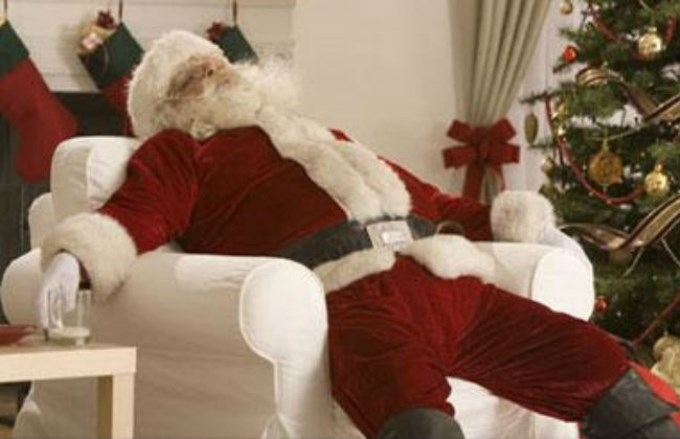 NEGRO SOBRE BLANCO: El Secreto álbum De Fotos De Papá Noel