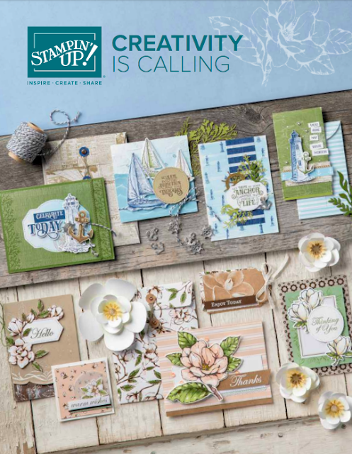 Stampin' Up! Annual Catalogue 2019-2020 Nigezza Creates