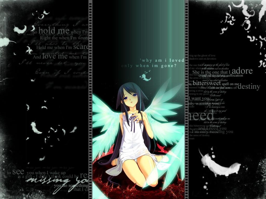 Free Desktop Wallpapers Sad Emo Girl Wallpaper-4457
