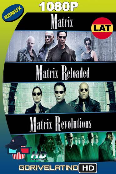 Matrix Trilogía (1999-2003) REMASTERED BDRemux 1080p Latino-Ingles MKV