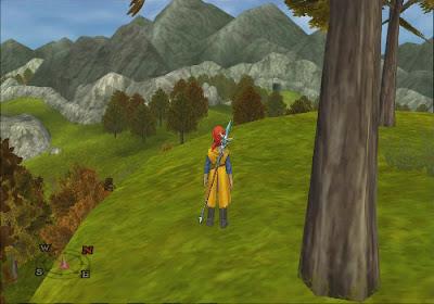 Dragon Quest VIII - El Periplo del Rey Maldito - Coloración árboles