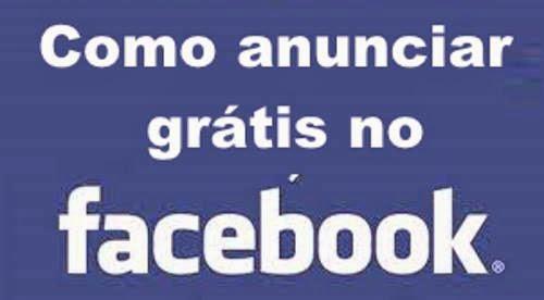 Como Anunciar Gratis no Facebook