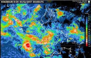 Habis Cempaka, Masyarakat Dihimbau Waspadai Siklon Tropis Dahlia