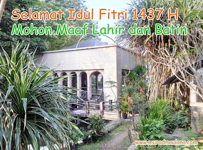 Selamat Idul Fitri 1437 H, Mohon Maaf Lahir dan Batin
