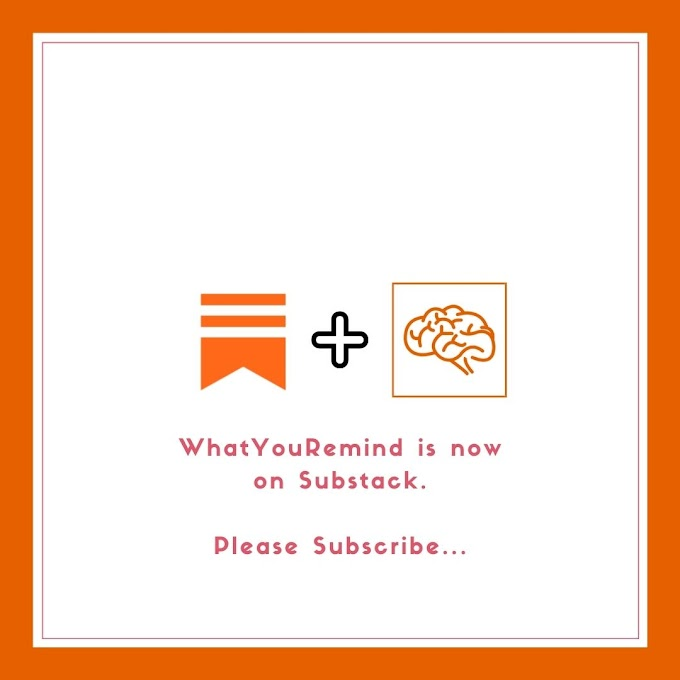 Whatyouremind Now on Substack | Subscribe Us for Weekly Newsletter