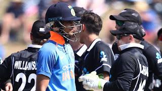 New Zealand vs India 4th ODI 2019 Highlights