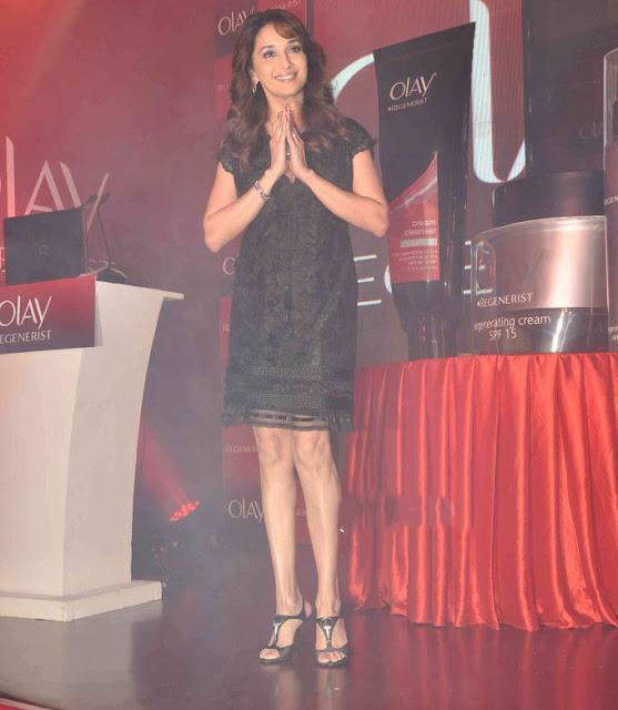 Actress Madhuri Dixit Latest Photos in Black Skirt Actress Trend