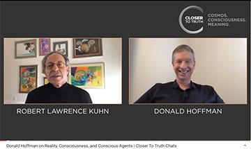 Donald Hoffman interview with Donald Hoffman (Source: Robert Kuhn @ Closer to Truth)