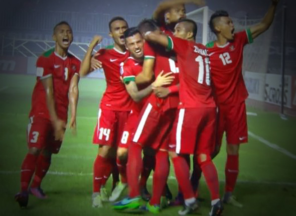 kemenangan timnas indonesia leg pertama final piala aff2016