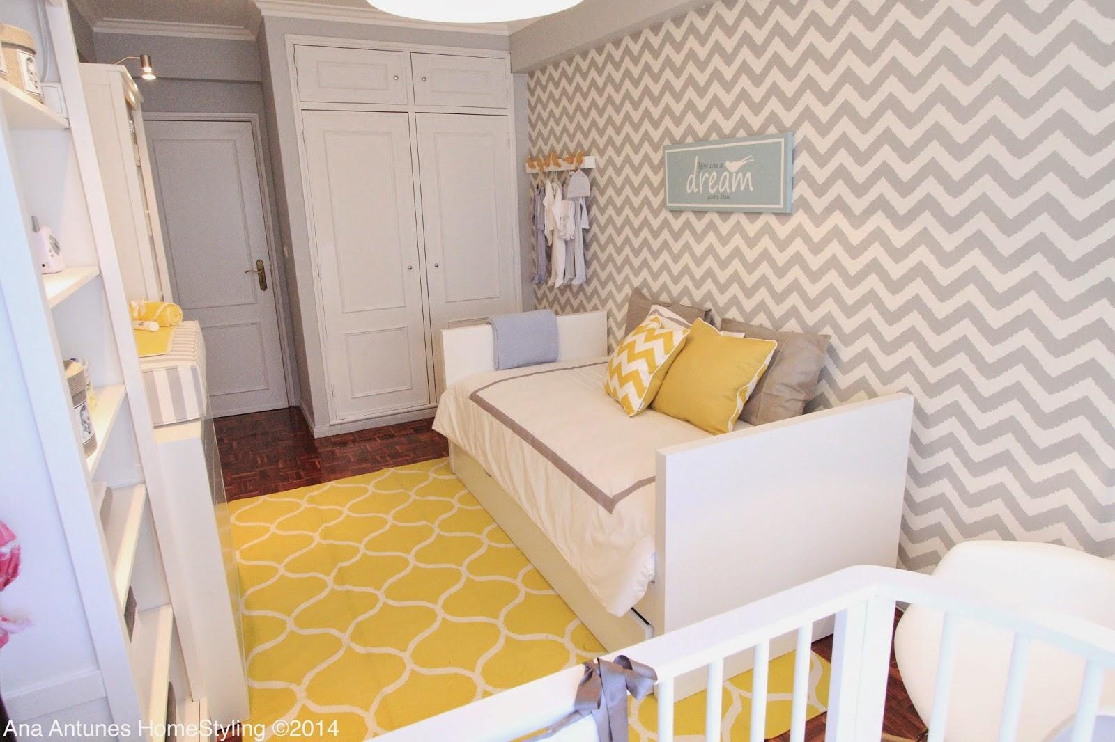 Home Styling Ana Antunes Querido Mudei A Casa Tv Show 2305  ~ Biblioteca No Quarto E Quarto De Bebê Moderno